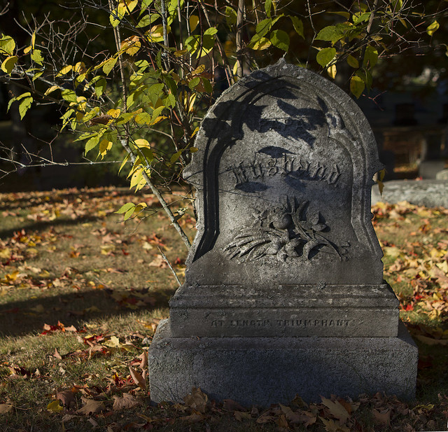 Lakeside Cemetery in October; Wakefield, MA (2015)