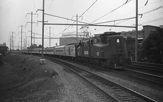 Amtrak GG1 at Elizabeth