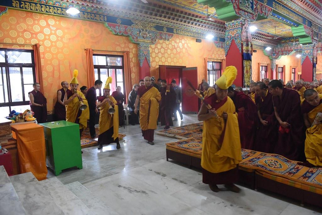 2016.01.14 The Gyalwang Karmapa Opens the Third Arya Kshema Winter Dharma Gathering