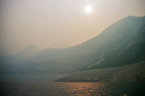 fire at south lake   by Jordan Satmary