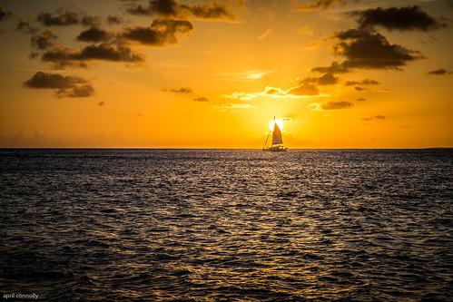 ocean blue sailing stmartin aprilpix iphoneography