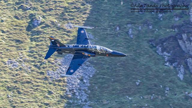 BAE Hawk T.2 (ZK019) Mach Loop
