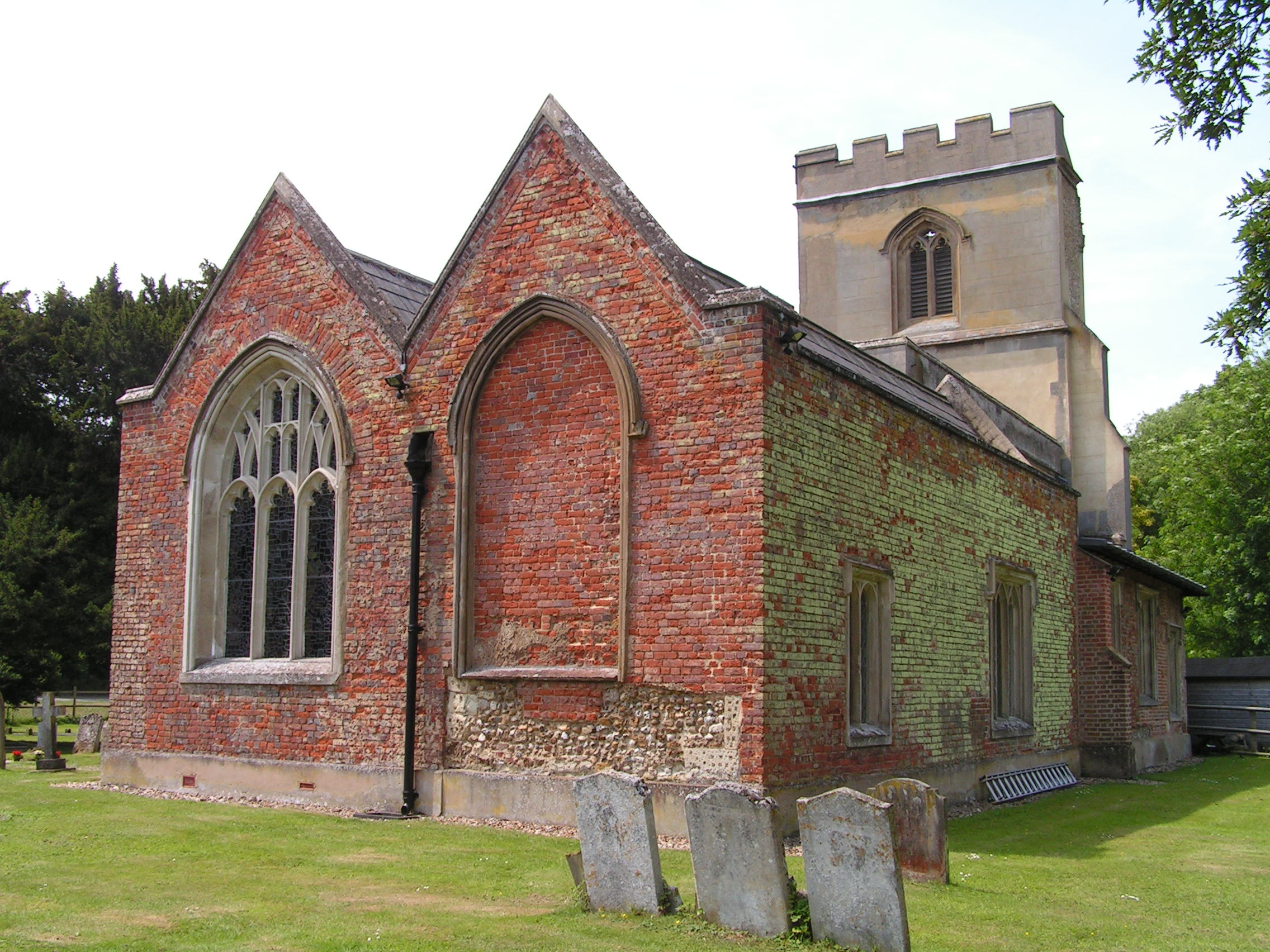 St Faith's Church, Hexton (2)