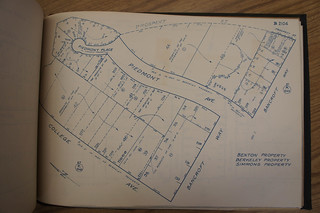 1923 block book showing house and surrounding area | by Anthro136k Who Owns the Past