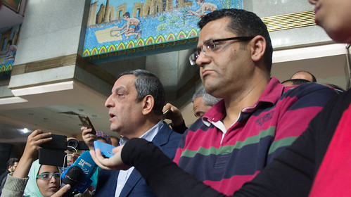 Egypt's Journalists syndicate after court rule to prison its head   by Kodak Agfa