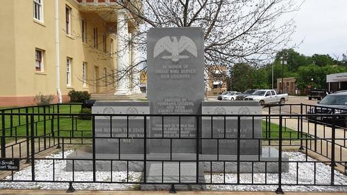 chfstew texas txcasscounty veteransmemorial