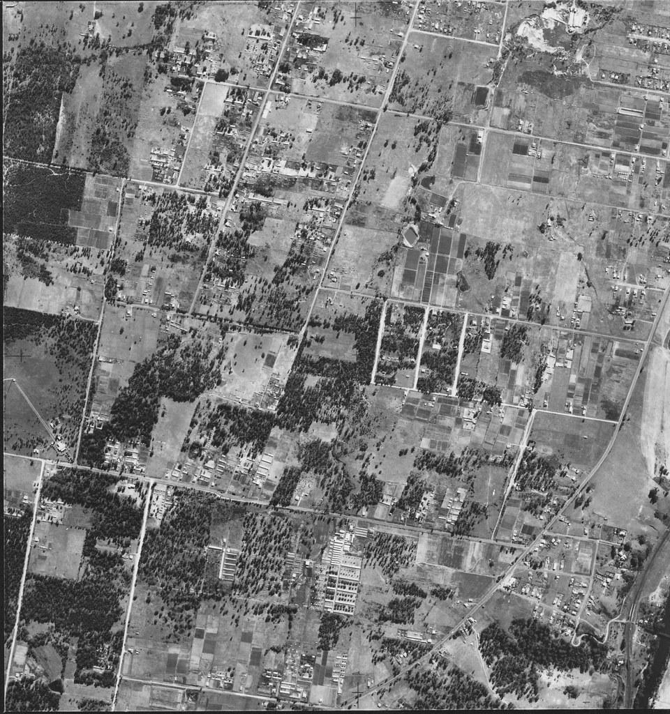 Lurnea and Casula in 1951 – Sydney  Aerial Photo.
