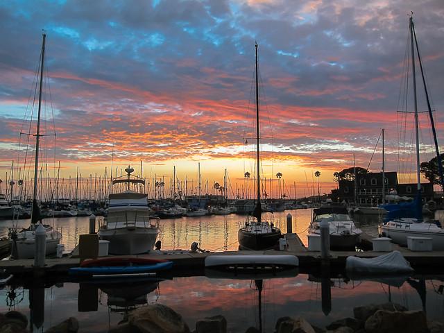 Oceanside Harbor Sunset