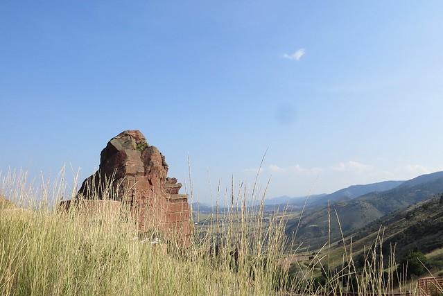 At Red Rocks