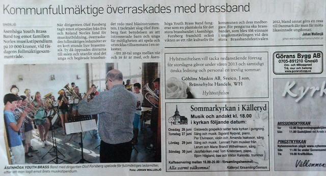 2013 - VN -ÅYBB i kommunhuset