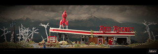 Fallout 4: Red Rocket Refuelling Station | by roΙΙi