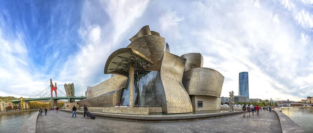 Guggenheim Museo.Museo Guggenheim El Museo Guggenheim Bilbao En Euskera G Flickr