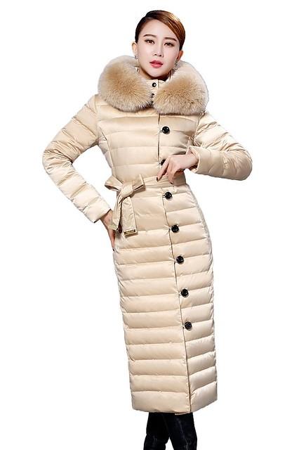 Long Nylon Wintercoat