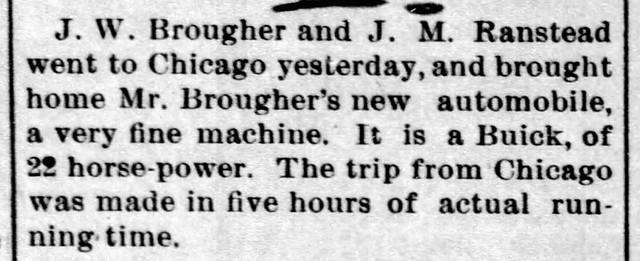 1906 - Brougher fourth auto - Enquirer - 7 Jun 1906