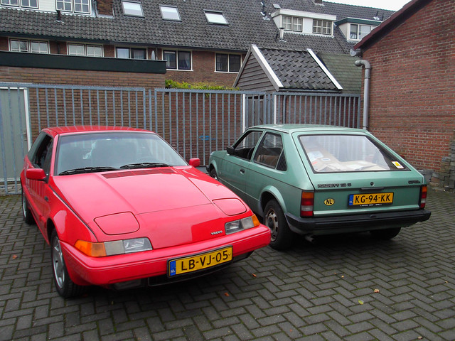 Volvo 480 S 2.0i & Opel Kadett 1.3 S