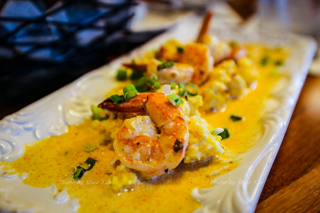 Shrimp and Grits w/ Chorizo Gravy - Aces Run