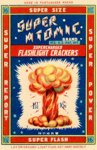 Super Atomic Supercharged Flashlight Crackers