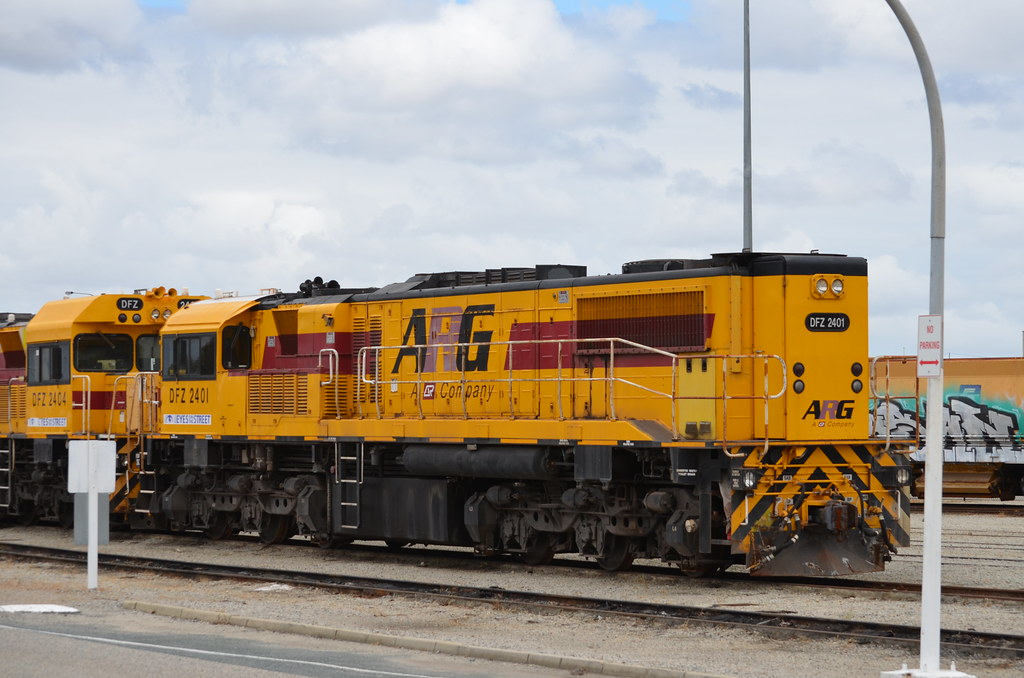 DFZ 2401 Forrestfield Works 23/10/2015 by ChrisDPom