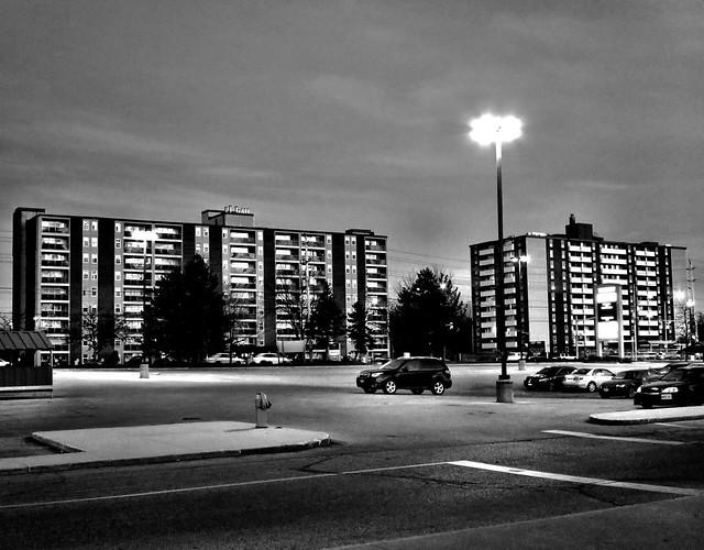 High-rise Apartments Along Wonderland