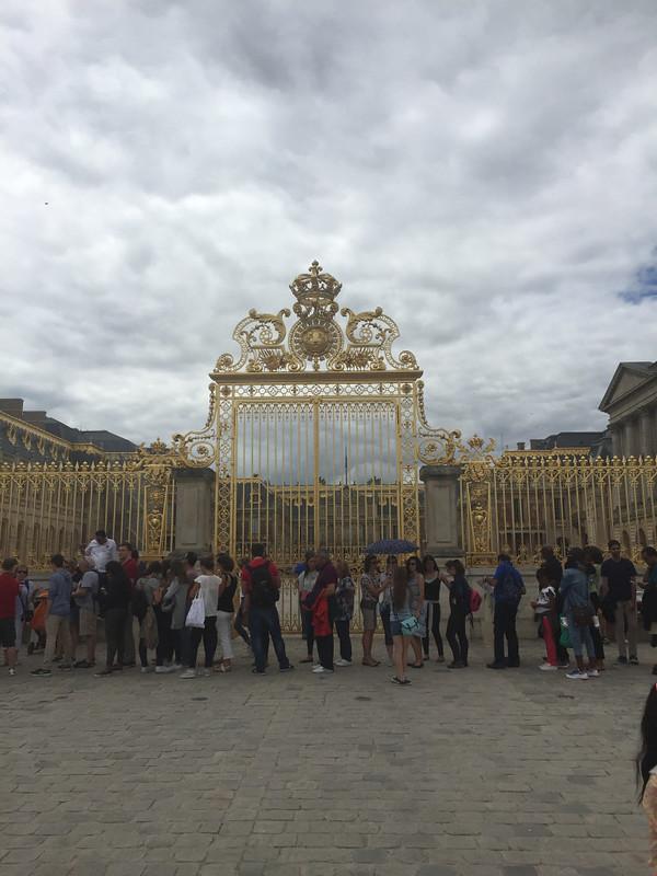 Fraser, Charles; Versailles, France - Bastille Weekend