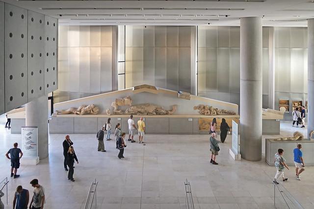 Le nouveau musée de l'Acropole (Athènes)