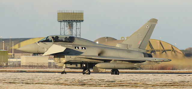 RAF 2 Sqn Eurofighter Typhoon FGR4
