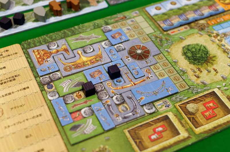 A Feast for Odin home board