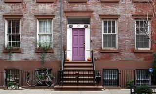 The house next door: 18-20 Jones Street (1844), Greenwich Village, New York | by Spencer Means