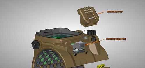 Pip-Boy 3000 Mk4, CAD, Beaglebone Access 1 | by ZapWizard