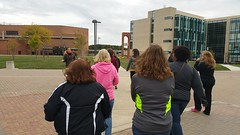 Student Affairs October Walk - October 2, 2015