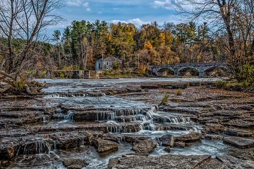 bridge canada stone mississippi arch rapids pakenham onraio