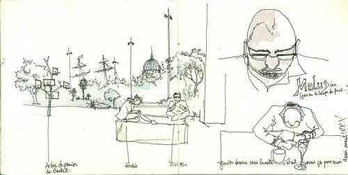 L'arbre à panier de basket, Anais, Vivien et Javier | by AlietteGou