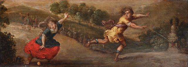 +1640: Atalanta e Hipómenes