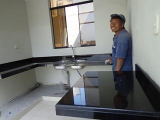 Tablero Cocina Granito Negro Absoluto Concreto Tableros Flickr
