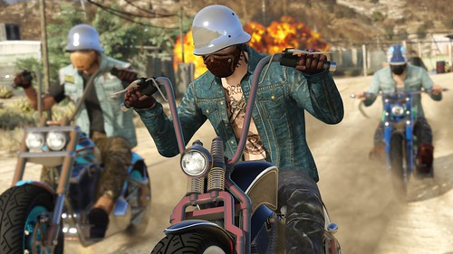 Grand Theft Auto Online Bikers 1 | by PlayStation.Blog