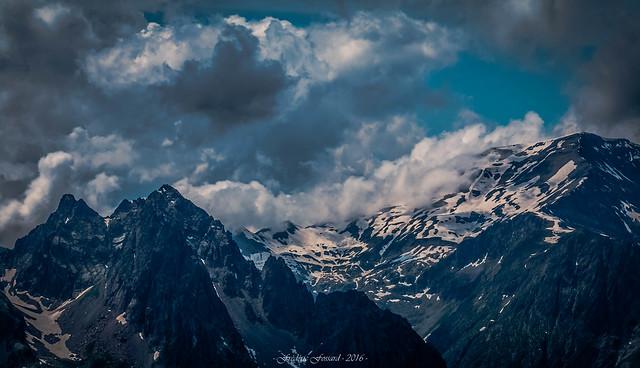 Ombre et Lumière sur le  Mont Buet