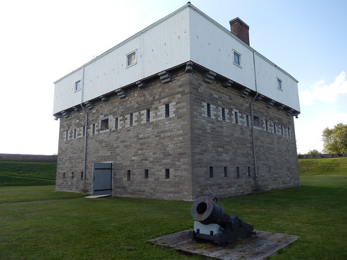 Prescott - Fort Wellington - blockhouse