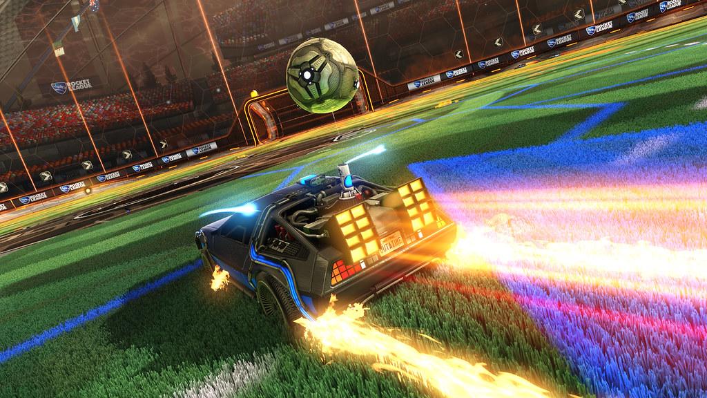 Rocket League   Rocket League gets Back to the Future DLC th