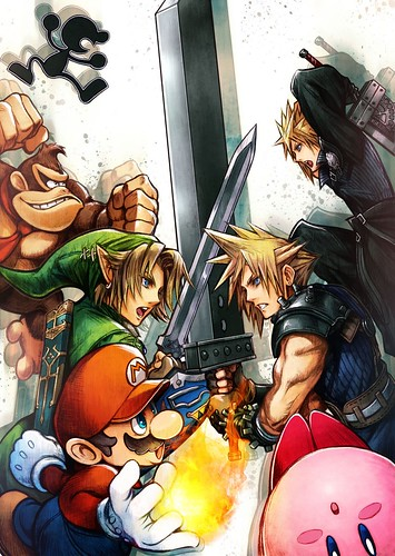 Cloud Strife Available Now On Super Smash Bros Final