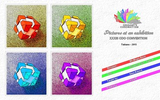 Origami Chromatism - Eli Barel - Pinweehl Cube B