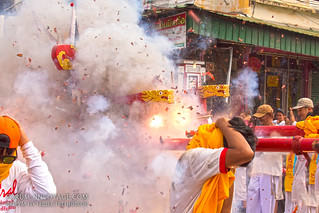 Street procession at Phuket Vegetarian Festival. October, 2016. Phuket, Thailand | by Andaman4fun