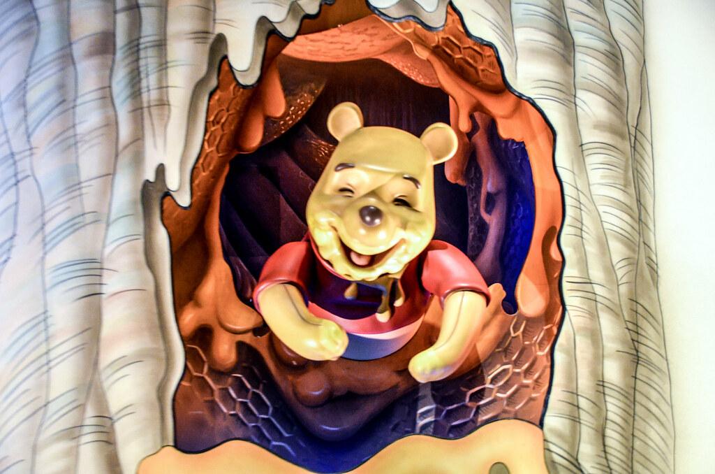 Winnie the Pooh honey