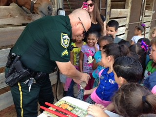 2015 - 1st Grade March 31, 2015 Clarcona Horsemen's Park with Orange County Sheriff's Mounted Unit   by lindarubin51
