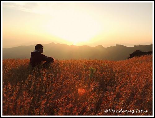 Sunrise at Rajgad Fort | by wanderingjatin