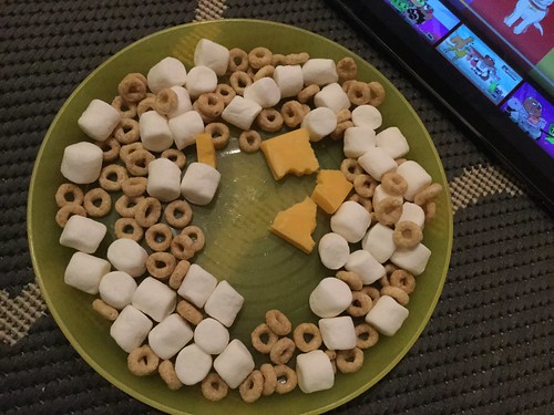 A Patrick original, cheddar cheese with marshmallow and cheerios   by T_Muzzy