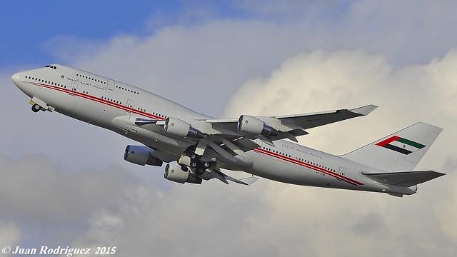 A6-COM - United Arab Emirates (Dubai Air Wing) Boeing 747-433M