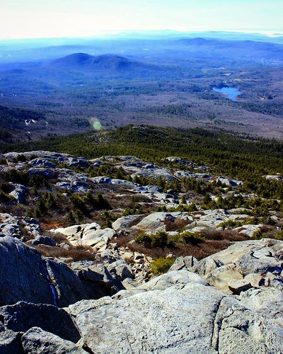 trees sky mountain mountains nature landscape rocks view hiking scenic newhampshire summit monadnock