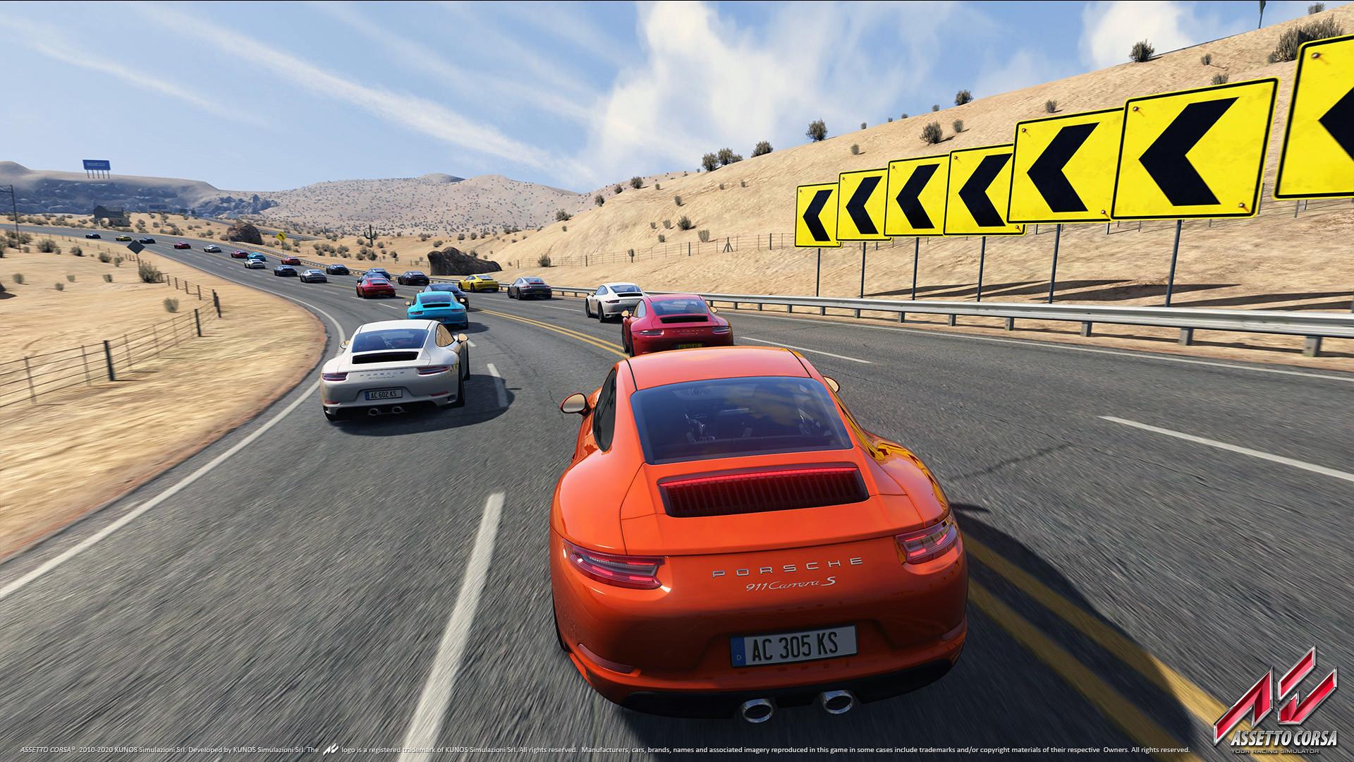 Porsche DLC 18