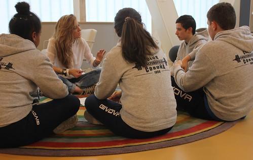 Conversas con... Fátima, Ana, Luis e Román