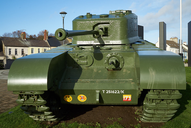 Churchill Tank Carrickfergus